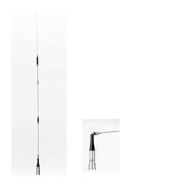 """144-440 MHz dual-band antenna, 5 db-7.6 db, 62"""" long NMO version"""