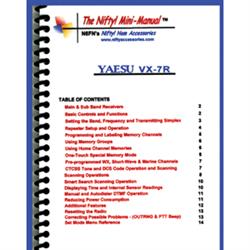 Mini Manual for Yaesu VX-7R