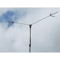 13 Feet, HF Mini Dipole Antenna, 40m/20m/15m/10m/6m bands, 200W PEP