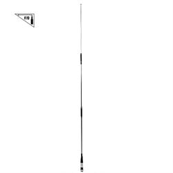 Tri band 50-144-440 MHz, 2.15-4.5-7.2 dBi, 5' long