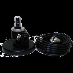 Heavy-duty adjustable swivel bracket for adjusting mount for proper angle on any vehicle