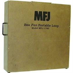 14-30 MHz Portable Box Fan Loop Antenna