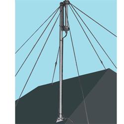 Roof mount kit for 14AVQ & 12AVQ