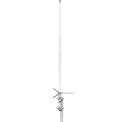 Dual band 146/446MHz base antenna, 4.5-7.2 db, 6'