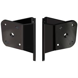 Dual S-N2-2 Adapter Plate Kit Black