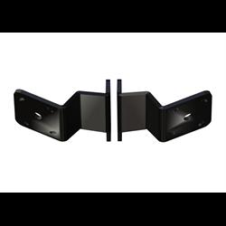 Dual S-2-6 Adapter Plate Kit Black