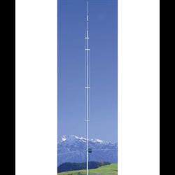 6 band vertical 20, 17, 15, 12, 10 & 6 metres, 19 ft, 3 dbi