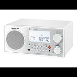 Wooden Cabinet Digital Tuning Radio (White)