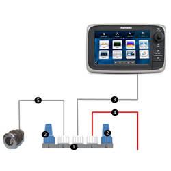 SeaTalk is a robust cabling and connection system compatible with NMEA 2000, built specifically for the marine environment comprising a powered single backbone with two terminators, one at each end.