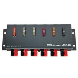 DC power panel, 5 outlets, 40 amps, Horizontal Configuration