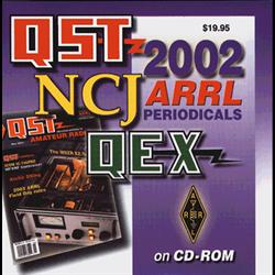 ARRL Periodicals on CD-ROM 2002