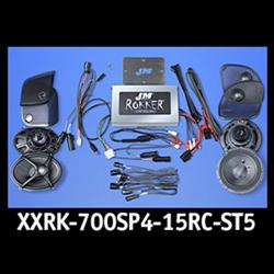 XXR Custom 700w 4-Speaker/Amplifier Installation Kit