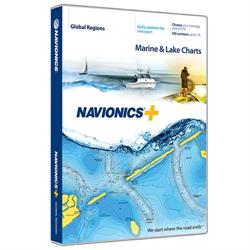 Navionics+ World Media Card