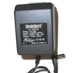 Uniden AD-140U AC Adapter for Bearcat Scanners 12V 500mA (AD-140U)