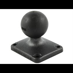 "RAM 2"" x 2.5"" Rectangle Composite Base with 1.5"" Ball :  RAP-202U-225"