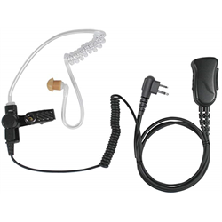 SPM1330S, EARPIECE MIC FOR ICOM 2-PIN HANDHELDS (W/ SCREWS) RADIOS