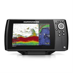 "7""  CHIRP Sonar GPS,  includes Navionics."