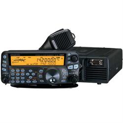 HF/6m 100 watts, noise reduction, TX/RX equalizer, AF filters, speaker, backlit ...