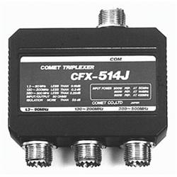 Triplexer  50/146/446MHz no leads - SO-239 connectors.
