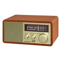 Sangean WR11SE   FM / AM Analog Wooden Cabinet Receiver