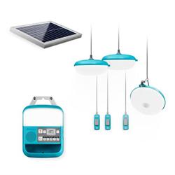 Solar-Powered Light, Charging & Radio