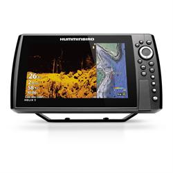 "9"" Sonar & GPS Combo With MEGA Down Imaging+ and Dual Spectrum CHIRP Sonar"