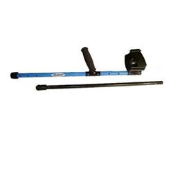 Garrett  Detector Shaft- Regular Shaft With Lower Rod - BLACK