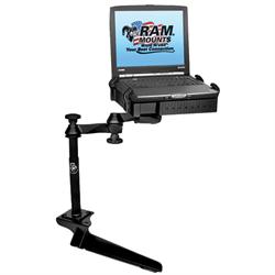 No-Drill Laptop Mount for the Ford F-250, F-350, F-450, F-550, F-650, F-750 & Ex...