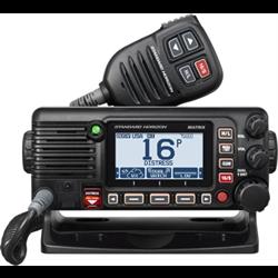 GX2400B, BLACK VHF MARINE FIXED MNT, GPS/AIS/NMEA/ 30W HAILER, 2ND STN