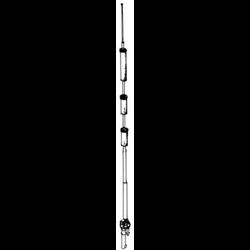 """RV"" Series Heavy Duty Vertical Antenna"