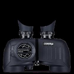 Binocular/Digital Compass Combination ,  7x 50 Diamond Marine™ lens coating and high definition optics