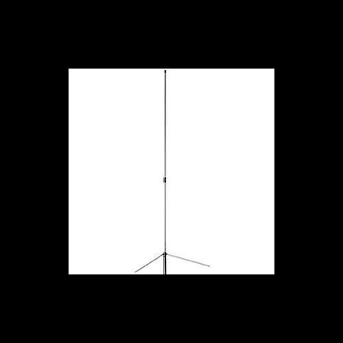 2m / 70cm / 23cm , 6 5 / 9 / 10 db, 10 5' long - N connector
