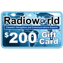 Radioworld $200 Gift Card