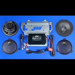 XXR EXTREME 350w 2-Speaker/Amplifier Installation Kit