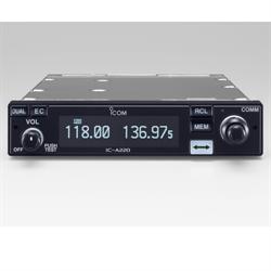 VHF Air Band Transceiver, White OLED Display and White Key Backlight, 20 regular...