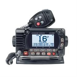 Fixed Mount VHF w/GPS - Black