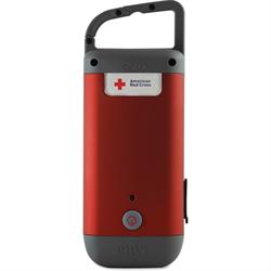 Hand Turbine Charging Power, LED Flashlight and Beacon, USB Charge