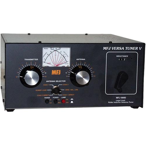 1500 Watt , covers 1 8 to 30 MHz, Antenna Tuner w/ Dummy Load