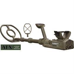 "Garrett ATX Metal Detector with 12"" DD coil plus 20"" Deepseeker Mono Searchcoil,..."