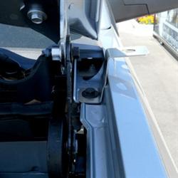 Comet CV2ANTNCG Vehicle specific antenna brackets for Chevrolet Silverado 1500-3500 & GMC Sierra 1500-3500