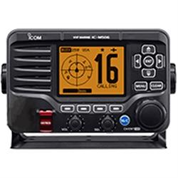 M506 #41, VHF MARINE, 25 WATTS, AIS, REAR MIC NMEA2000,  BLACK, TWO WAY HAILER