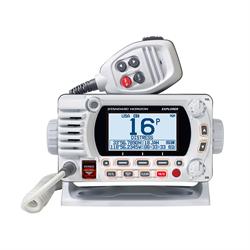 Fixed Mount VHF w/GPS - White