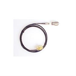 "6.5' RG316 Teflon 1/8"" diameter coax with NMO Base"