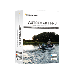 New Humminbird® AutoChart PRO™ for North America (excluding Alaska) offers all the leading features of AutoChart—but with two key enhancements designed to give tournament anglers a competitive edge