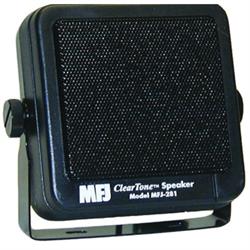 8 Watts. 8 Ohms, 6ft cord, 3.5mm mono plug Clear Tone Speaker
