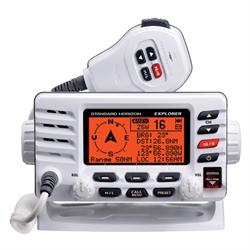 Explorer Ultra Compact ITU Class D VHF Radio,  RAM3 Compatible, GPS Compass disp...