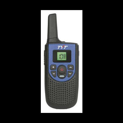 2 5W Handheld GMRS Radio Blue