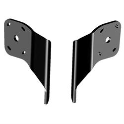 "Dual Side Mount Kit to Jack Plate, Negative 2"" Setback, 6"" Rise, Black"
