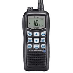 VHF Handheld Marine Transceiver, automatic volume adjustment, noise canceling mi...