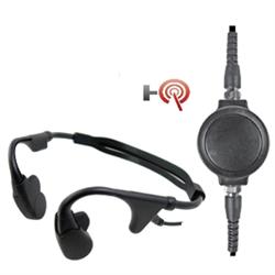 Pryme Dual Bone Conduction Noise Resistant Headset : connection Vertex X02